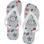 Winter Flip Flops (Personalized)