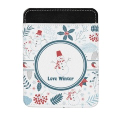 Winter Genuine Leather Money Clip (Personalized)