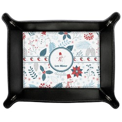 Winter Genuine Leather Valet Tray (Personalized)
