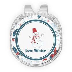 Winter Golf Ball Marker - Hat Clip