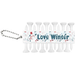 Winter Golf Tees & Ball Markers Set (Personalized)