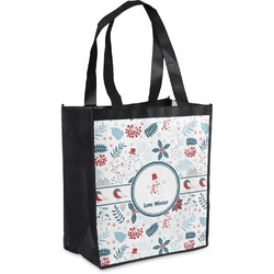 Winter Grocery Bag (Personalized)