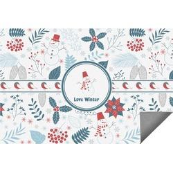 Winter Indoor / Outdoor Rug (Personalized)