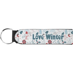 Winter Neoprene Keychain Fob (Personalized)