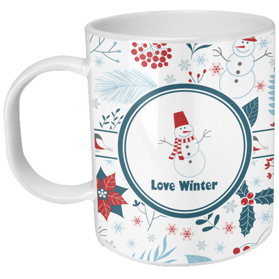 Winter Plastic Kids Mug (Personalized)