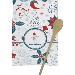Winter Kitchen Towel - Full Print (Personalized)