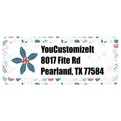 Winter Return Address Labels (Personalized)