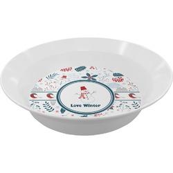 Winter Melamine Bowls (Personalized)