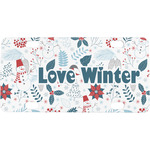 Winter Mini / Bicycle License Plate (Personalized)