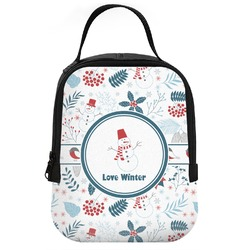 Winter Neoprene Lunch Tote (Personalized)