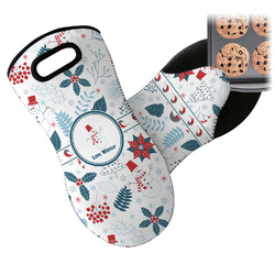Winter Neoprene Oven Mitt (Personalized)