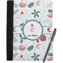 Winter Notebook Padfolio (Personalized)