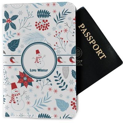 Winter Passport Holder - Fabric (Personalized)