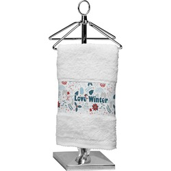 Winter Finger Tip Towel (Personalized)