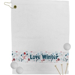 Winter Golf Towel (Personalized)