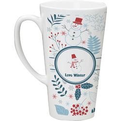 Winter Latte Mug (Personalized)