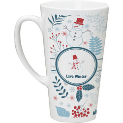 Winter Latte Mug (Personalized)