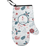 Winter Oven Mitt (Personalized)