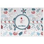 Winter Placemat (Laminated) (Personalized)