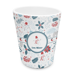 Winter Plastic Tumbler 6oz (Personalized)