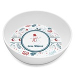 Winter Melamine Bowl 8oz (Personalized)
