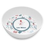 Winter Melamine Bowl 8oz (Personalized)
