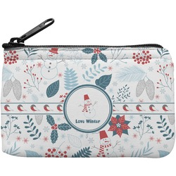 Winter Rectangular Coin Purse (Personalized)