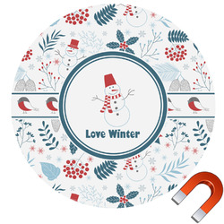Winter Car Magnet (Personalized)
