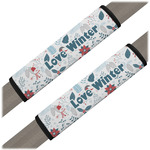 Winter Seat Belt Covers (Set of 2) (Personalized)