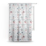 Winter Sheer Curtains (Personalized)