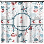 Winter Shower Curtain (Personalized)