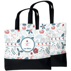 Winter Beach Tote Bag (Personalized)
