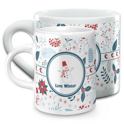 Winter Espresso Cups (Personalized)
