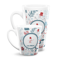 Winter Snowman Latte Mug