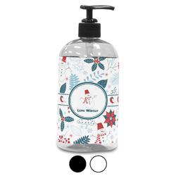 Winter Plastic Soap / Lotion Dispenser (Personalized)