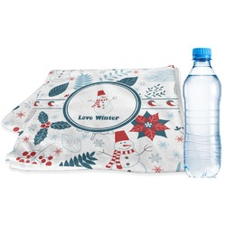 Winter Sports Towel (Personalized)