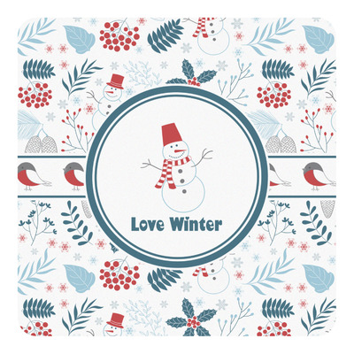 Winter Square Decal (Personalized)