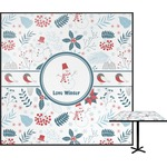 Winter Square Table Top (Personalized)