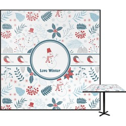 """Winter Square Table Top - 24"""" (Personalized)"""