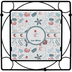 Winter Square Trivet (Personalized)