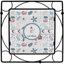 Winter Square Trivet (Personalized)