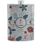 Winter Stainless Steel Flask (Personalized)