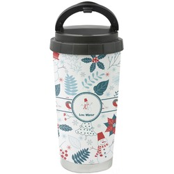 Winter Stainless Steel Coffee Tumbler (Personalized)