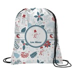Winter Drawstring Backpack (Personalized)
