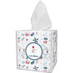 Winter Tissue Box Cover (Personalized)