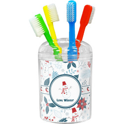 Winter Toothbrush Holder (Personalized)