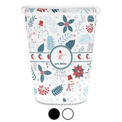 Winter Waste Basket (Personalized)