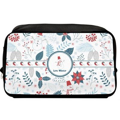 Winter Toiletry Bag / Dopp Kit (Personalized)