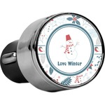 Winter USB Car Charger (Personalized)