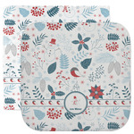 Winter Facecloth / Wash Cloth (Personalized)